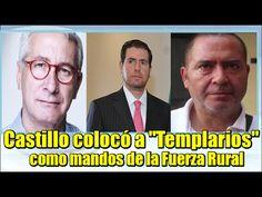 """Castillo colocó a """"Templarios"""" como mandos de la Fuerza Rural"""