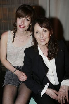Chantal Lauby et Jennifer Ayache