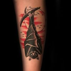 Discover retro winged ink with the top 50 best traditional bat tattoo designs for men. Explore cool old school body art ideas. Peace Tattoos, Bad Tattoos, Future Tattoos, Mens Tattoos, Print Tattoos, Mom Tattoos For Guys, Tattoos For Dad Memorial, Remembrance Tattoos, Spooky Tattoos