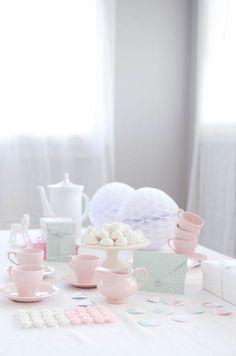 Have a pastel tea party this spring!
