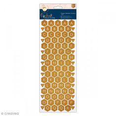 Pegatinas Alfabeto (nido de abeja) Forever Friends Opulent  - 176 unidades - Fotografía n°1