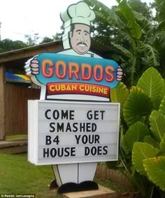 Gordos in Tallahassee, Florida, has used Hurricane Hermine to attract new business