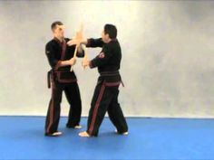 Modern arnis Ken Smith performing Kitchen sink move - YouTube