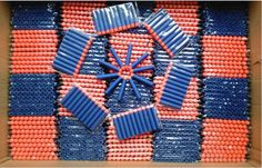 Kids-Toy-For-NERF-N-Strike-Gun-Bullet-Darts-Round-Head-Blue-Blasters-400-pcs