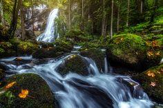 Gollinger Wasserfall - Golling,Austria.