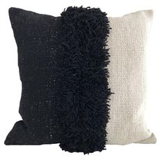 Puna Handwoven Pillow - Black – Sien + Co
