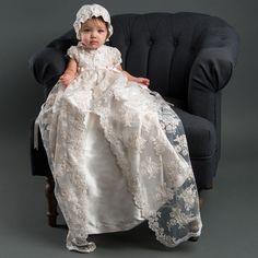 Penelope Christening Gown & Bonnet