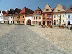 Slovakia, Bardejov - City Hall Square