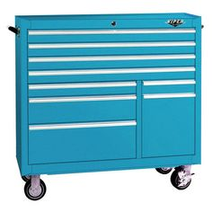 Viper Tool Storage 41'' 9 Drawer Rolling Cabinet