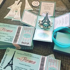 Paris theme $3 each