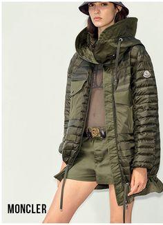 Moncler - Damen Parka & Mäntel - Onlineshop Sailerstyle Moncler, Elegant, Designer, Military Jacket, High Fashion, Sports, Jackets, House, Sport