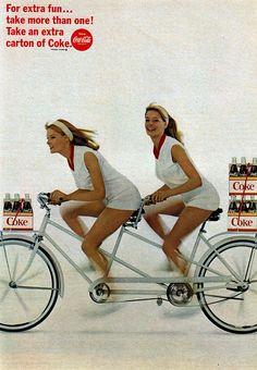 Vintage Coca - Cola Ad