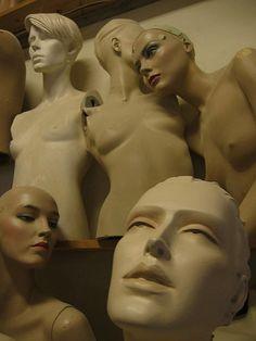 Something mannequin statue bondage stories
