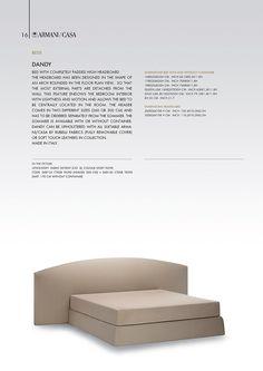 Beds | Armani/Casa