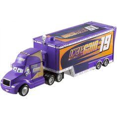Boy Car Room, Disney Cars Toys, Baby Animals Super Cute, Cars Characters, Car Carrier, Cars 1, Lightning Mcqueen, Toy Trucks, Custom Trucks