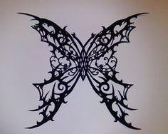 Butterfly paper cut by kagirinai-yume