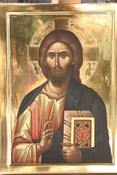 Whispers of an Immortalist: Icons of Our Lord Jesus Christ Byzantine Icons, Byzantine Art, Religious Icons, Religious Art, Christus Pantokrator, Images Of Christ, Jesus Christus, Christ The King, Biblical Art