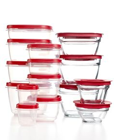 Glasslock Food Storage Container Sets Kinetic Go Green Glass Lock 16 Piece Set Amazon Kitchen