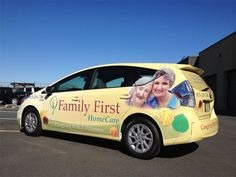 Family First Home Care - Home Care Vehicle Wraps