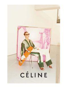 Céline Spring 2011 Campaign   Daria Werbowy & Stella Tennant by Juergen Teller