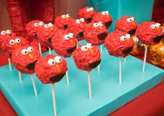Red and Turquoise Elmo Party | | Kara's Party IdeasKara's Party Ideas