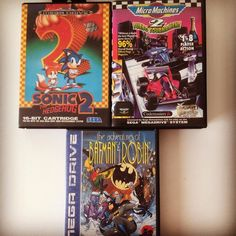 On instagram by retrogamingnorth #segagenesis #microhobbit (o) http://ift.tt/2qeOkvu nice find from a few weeks back..This time for the Sega MegaDrive (Genesis) ..total cost 3 EUR / 3.5 USD for all three...(unfortunately all missing their manual..) #gamecollecting #retrogamecollector #retrogaming #retrogames #retrospel #sega #segamegadrive