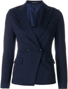 Tagliatore Slim V-neck Blazer - Farfetch V Neck, Slim, Mens Fashion, Blazer, Jackets, Shopping, Women, Moda Masculina, Down Jackets