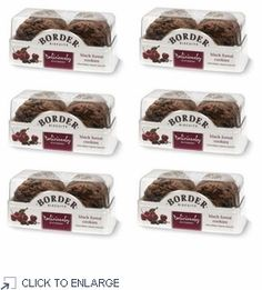 Border Biscuits Black Forest Cookies 175g - 6 PACK www.shoplondons.c...
