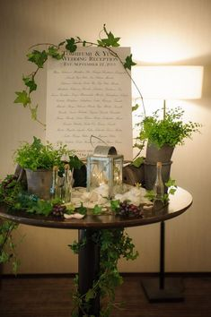 Ideas for flowers, table settings, and decorations that will look great with the walnut walls and mid-century modern finishes here at VENUE Wedding Signs, Wedding Table, Diy Wedding, Wedding Flowers, Flower Decorations, Wedding Decorations, Table Decorations, Wedding Welcome Board, Welcome Table