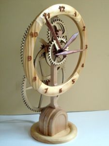 The Naked Clock - project files available online at the PatternDepot