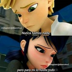 By their faces I guess it must be something very sad, Dile no a la tristeza ; Ex Amor, Love Phrases, Secret Love, Sad Love, Star Vs The Forces, Love Messages, Miraculous Ladybug, About Me Blog, Tumblr