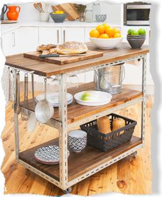 Kitchen special: Treasure island. Clipped from Better Homes and Gardens using Netpage.