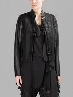 Ann Demeulemeester Leather Jackets