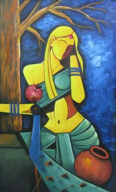 50 Most Beautiful Indian Paintings From Top Artists