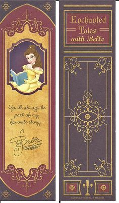 The bookmark I got for being a suit of armor during the Enchanted Tales With Belle Show Enchanted Tales With Belle Bookmark Disney Bookmarks, Creative Bookmarks, Bookmarks For Books, Handmade Bookmarks, Corner Bookmarks, Geek Cross Stitch, Cross Stitch Bookmarks, Enchanted Tales With Belle, Cardboard Box Crafts