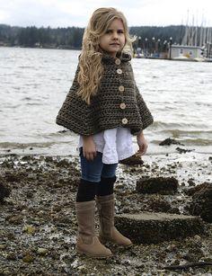 Ravelry: Stoyne Cape pattern by Heidi May