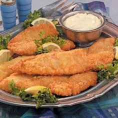 Mom's Fried Fish Recipe