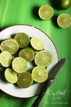 Monsoon Spice | Unveil the Magic of Spices...: Nimbu Ka Achaar | Simple Spicy Indian Lemon Pickle Recipe Lime Recipes, Spicy Recipes, Indian Food Recipes, Vegan Recipes, Cooking Recipes, Lemon Pickle Recipe, Pickles Recipe, Lime Pickles, Vegan Sauces