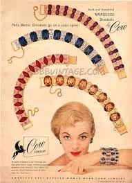 vintage coro jewelry advertisement
