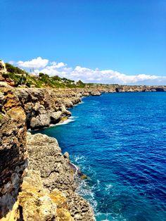 Cliffs by Cala Pi, Mallorca