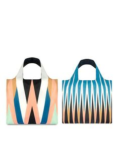 Take a look at this Echo Zigzag & Eco Backgammon Reusable Bag Set by LOQI on #zulily today!