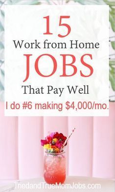 Are you looking for ways to make money from home? Consider these 15 legitimate j.Are you looking for ways to make money from home? Consider these 15 legitimate jobs that pay well from people who are doing it today. There is a succe. Ways To Earn Money, Earn Money From Home, Earn Money Online, Online Jobs, Way To Make Money, Making Money At Home, Online Earning, Get Paid Online, Money Making Crafts