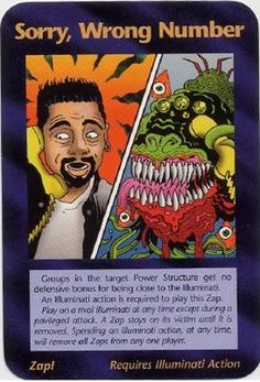 Illuminati card game, Sorry,_Wrong_Number_(Assassins)_Illuminati_Card_NWO