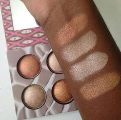 Reader Swatches: New BH Cosmetics Wild & Radiant Baked Illuminating & Bronzing Palette