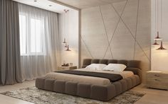 BRABBU CONTRACT - Interior design inspirations for your luxury bedroom inspired by one hotel ? Modern Luxury Bedroom, Luxury Bedroom Design, Master Bedroom Interior, Room Design Bedroom, Bedroom Furniture Design, Home Room Design, Luxurious Bedrooms, Interior Design, Hotel Inspired Bedroom