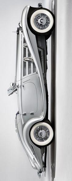 1937-38 #Mercedes-Benz 540K Special Roadster