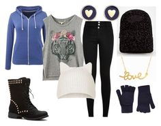 """Comfort in the Cold"" by gigglycow on Polyvore featuring Topshop, Minnie Grace, Vans, Brooks Brothers and Accessorize"