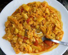 wegetarianskie curry