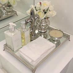 How To Decorate Trays