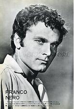 "FRANCO NERO 1967 Vintage JPN PICTURE CLIPPING 8x11"" #LH/U"